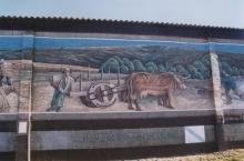 Mural en Monseiro